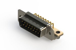 621-M15-660-LN3 - Right Angle D-Sub Connector