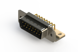 621-M15-660-LN4 - Right Angle D-Sub Connector