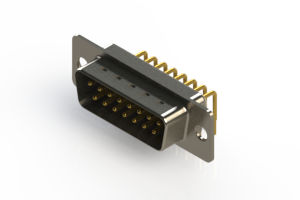 621-M15-660-WN1 - Right Angle D-Sub Connector