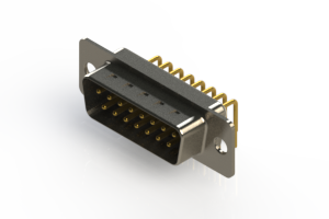 621-M15-660-WT1 - Right Angle D-Sub Connector