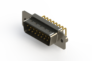 621-M15-660-WT2 - Right Angle D-Sub Connector