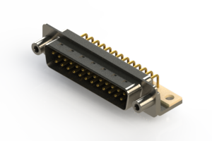 621-M25-260-BN6 - Right Angle D-Sub Connector