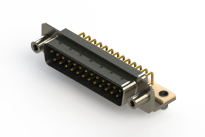 621-M25-260-LN5 - Right Angle D-Sub Connector