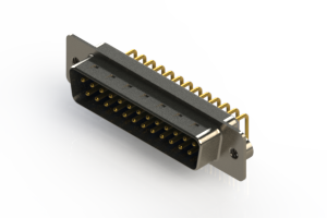 621-M25-260-LT2 - Right Angle D-Sub Connector