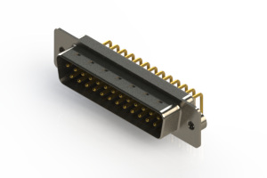 621-M25-260-WT2 - Right Angle D-Sub Connector