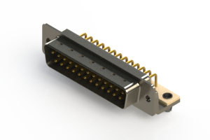 621-M25-260-WT3 - Right Angle D-Sub Connector
