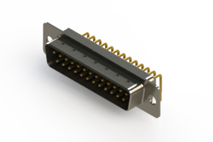 621-M25-360-BN1 - Right Angle D-Sub Connector