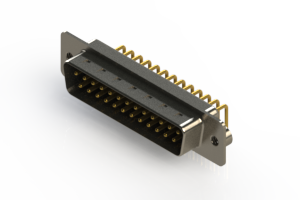 621-M25-360-BN2 - Right Angle D-Sub Connector