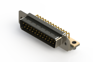 621-M25-360-BN3 - Right Angle D-Sub Connector