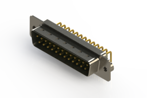 621-M25-360-GN2 - Right Angle D-Sub Connector