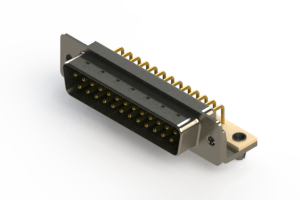 621-M25-360-GT3 - Right Angle D-Sub Connector