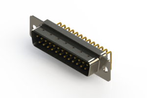 621-M25-360-LT1 - Right Angle D-Sub Connector