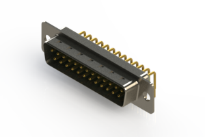 621-M25-660-GN1 - Right Angle D-Sub Connector