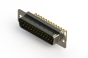 621-M25-660-GT1 - Right Angle D-Sub Connector