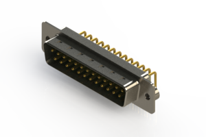 621-M25-660-GT2 - Right Angle D-Sub Connector