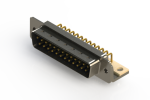 621-M25-660-LN4 - Right Angle D-Sub Connector