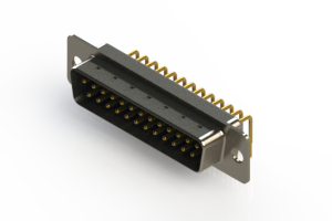 621-M25-660-LT1 - Right Angle D-Sub Connector
