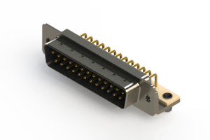 621-M25-660-LT3 - Right Angle D-Sub Connector