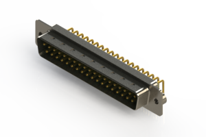 621-M37-260-GT2 - Right Angle D-Sub Connector