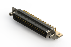 621-M37-260-LN6 - Right Angle D-Sub Connector