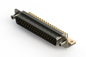 621-M37-360-LT6 - Right Angle D-Sub Connector