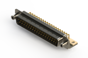 621-M37-360-WN6 - Right Angle D-Sub Connector