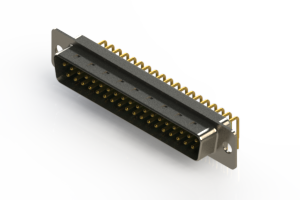 621-M37-660-GN1 - Right Angle D-Sub Connector