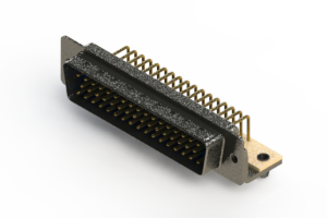 621-M50-360-LN3 - Right Angle D-Sub Connector