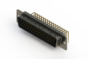 621-M50-360-LT1 - Right Angle D-Sub Connector