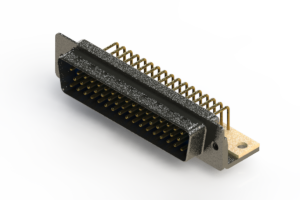 621-M50-360-LT4 - Right Angle D-Sub Connector