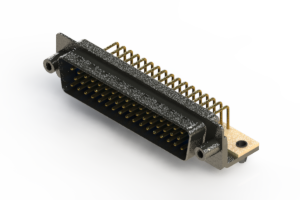 621-M50-360-LT5 - Right Angle D-Sub Connector