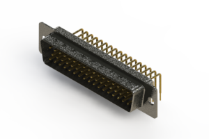 621-M50-360-WT1 - Right Angle D-Sub Connector