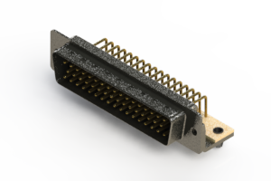 621-M50-660-BN3 - Right Angle D-Sub Connector