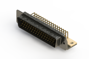 621-M50-660-BN4 - Right Angle D-Sub Connector