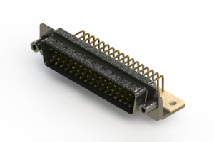 621-M50-660-GN6 - Right Angle D-Sub Connector