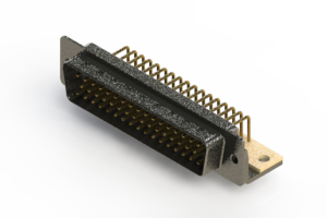 621-M50-660-WN4 - Right Angle D-Sub Connector