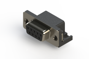 622-009-260-006 - EDAC   Standard Right Angle D-Sub Connector