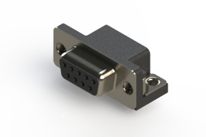 622-009-360-555 - EDAC | Standard Right Angle D-Sub Connector