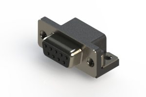 622-009-668-015 - EDAC | Standard Right Angle D-Sub Connector