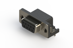 622-009-668-536 - EDAC | Standard Right Angle D-Sub Connector