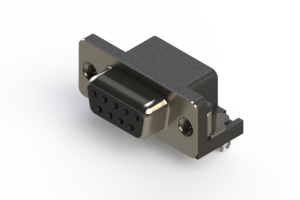 622-009-668-545 - EDAC | Standard Right Angle D-Sub Connector