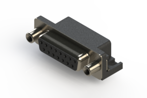 622-015-260-000 - EDAC   Standard Right Angle D-Sub Connector