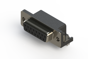 622-015-360-041 - EDAC | Standard Right Angle D-Sub Connector