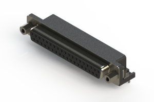 622-037-668-033 - EDAC | Standard Right Angle D-Sub Connector