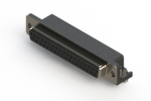 622-037-668-041 - EDAC | Standard Right Angle D-Sub Connector