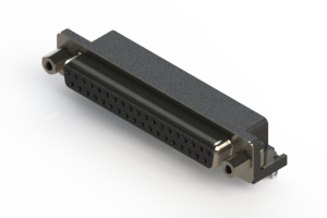 622-037-668-043 - EDAC | Standard Right Angle D-Sub Connector