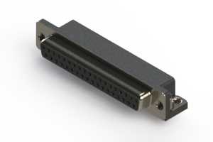622-037-668-052 - EDAC | Standard Right Angle D-Sub Connector