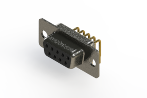 622-M09-260-BN1 - EDAC | Right Angle D-Sub Connector