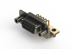622-M09-260-BN5 - EDAC | Right Angle D-Sub Connector