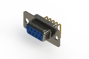 622-M09-260-LT1 - EDAC | Right Angle D-Sub Connector